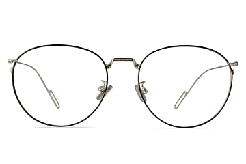 Kable Trendy Round Silver Frame