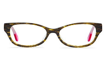 Accessorize ACS004 Brown Mottle/Pink Glasses