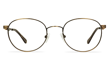 IWear 6060 Earth Ombre Round Stainless Steel Glasses