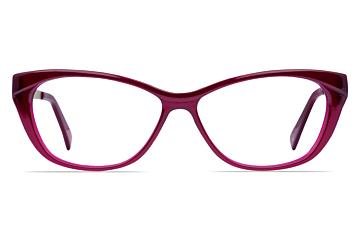 Mazzimo Occhiali Burgundy MA2210 Cateye Glasses
